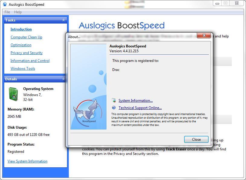 Auslogics BoostSpeed 4.4.11.215